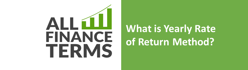 Definition of yearly-rate-of-return-method