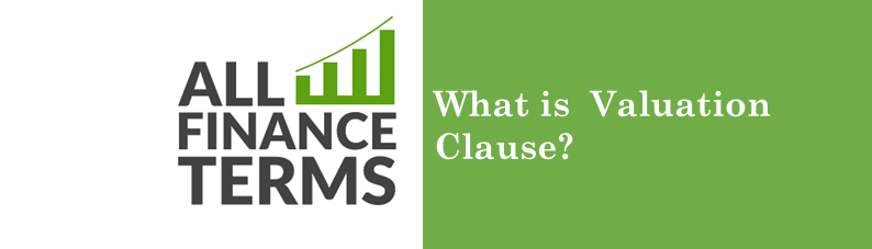 Definition for valuation-clause