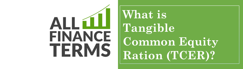 Definition tangible common equity ration tcer