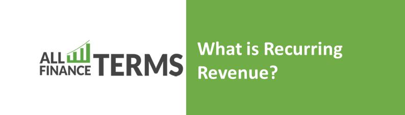 Definition of recurring-revenue