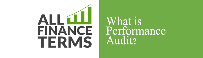 Definition of Performance Audit