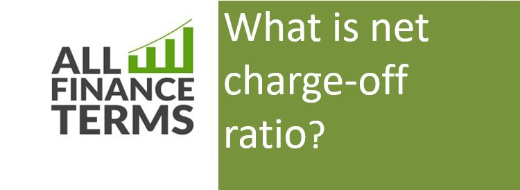 Definition of net charge-off ratio ?