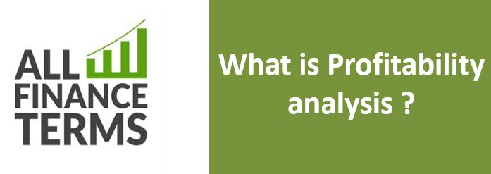 Definition of Profitability analysis
