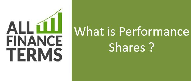 Definition of Performance Shares