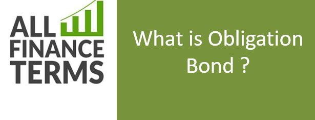 Definition of Obligation Bond