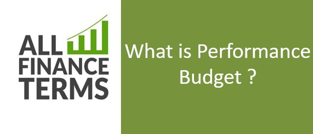 Definition of Performance Budget
