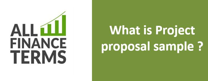 Definition of Project proposal sample
