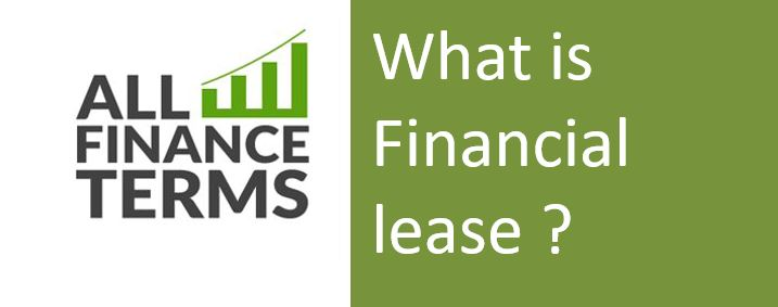 Definition of Financial lease