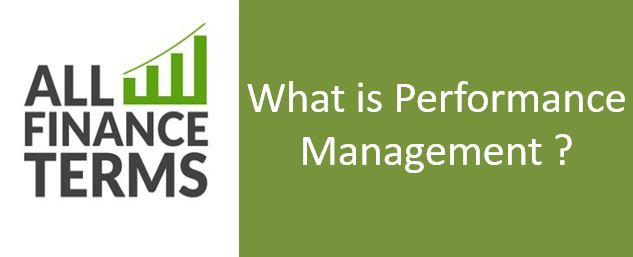 Definition of Performance Management