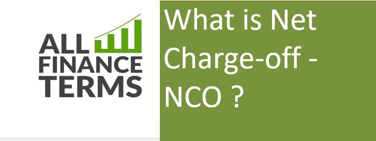 Definition of Net Charge-off - NCO