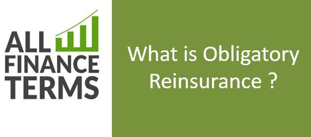 Definition of Obligatory Reinsurance