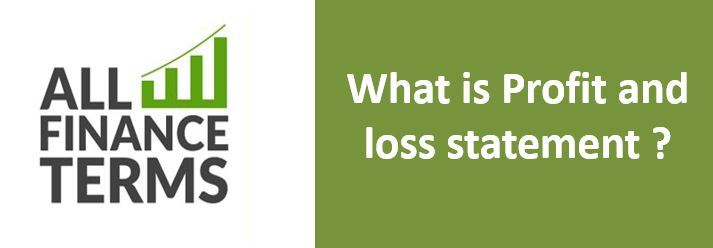 Definition of Profit and loss statement