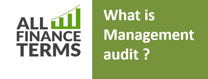 Definition of Management audit